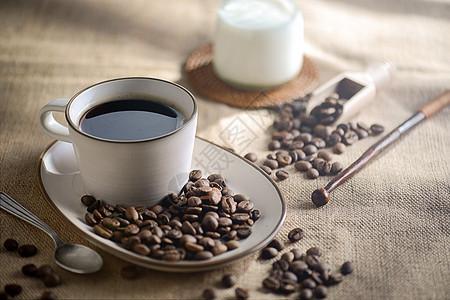 咖啡布景素材图片