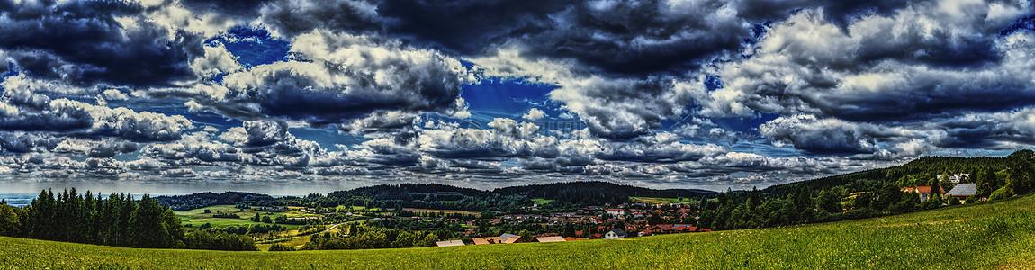 巴伐利亚森林景观图片