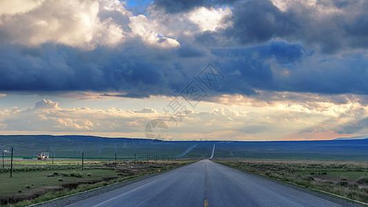 远方的路图片