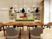 后现代餐厅效果图图片