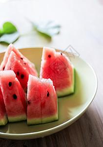 夏季多汁西瓜图片