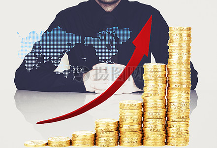 创意金融商务图图片