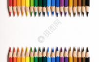 艳丽的彩色铅笔图片