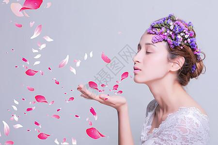 美女素材背景图图片