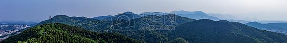 百望山的美景图片