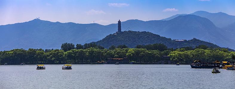 山上的塔图片