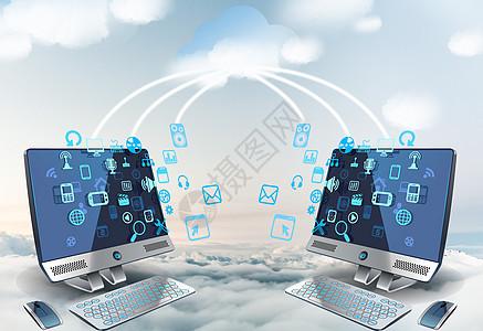 云数据传输图片