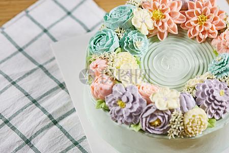 韩式蛋糕图片