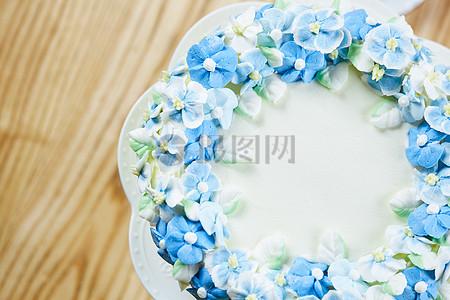 韩式裱花蛋糕图片