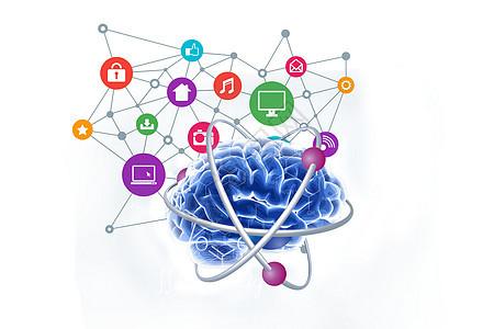 大脑里的知识决定网络通讯沟通图片