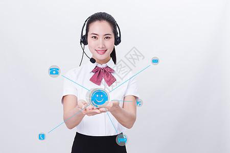 商务科技美女图片