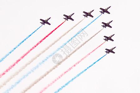 飞机特技演练展示图片