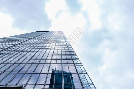 上海浦西大气商务大楼建筑高清图片