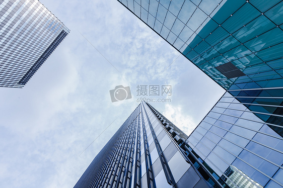 上海浦西大气商务大楼建筑图片