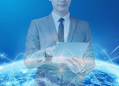网络连接世界图片