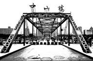 兰州中山桥铁桥黄河桥图片