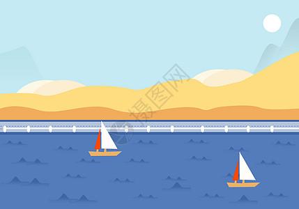 河边的小船图片