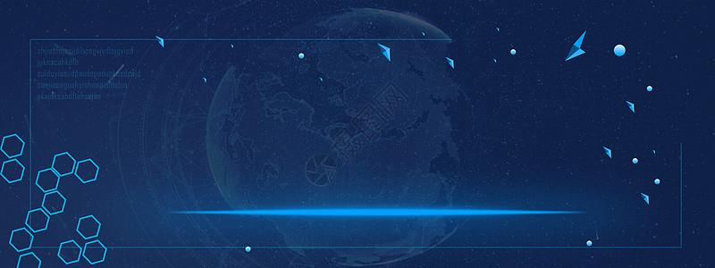 科技banner背景图片