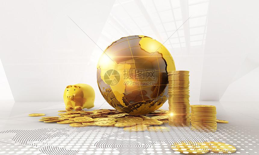 金融背景图片