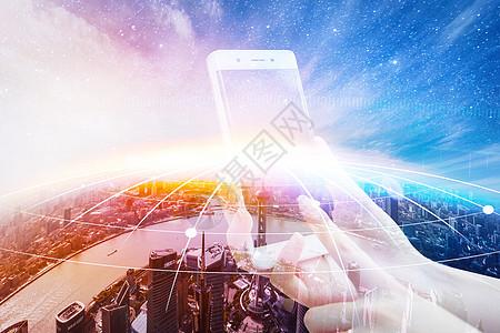 手机链接世界图片