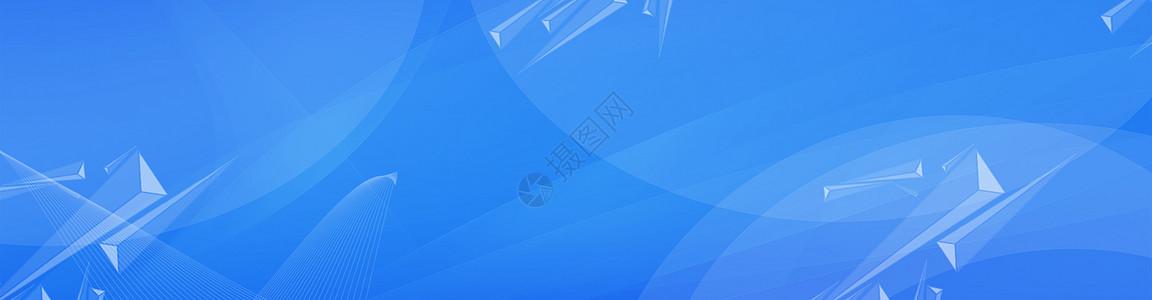 蓝色banner背景图片