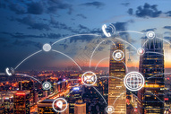 城市信息传递系统图片