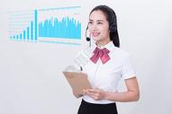 科技客服人员图片