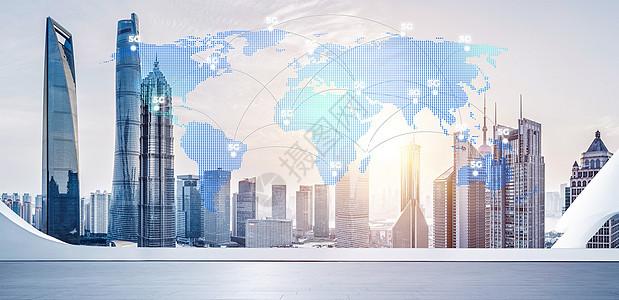 网络信息科技覆盖城市图片