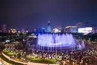济南泉城广场图片