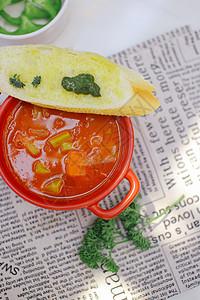 匈牙利牛肉蔬菜汤图片