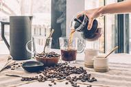 咖啡馆的咖啡图片