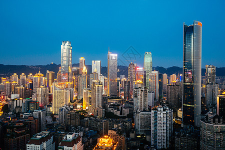重庆解放碑夜景图片