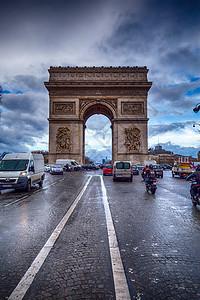 法国凯旋门图片