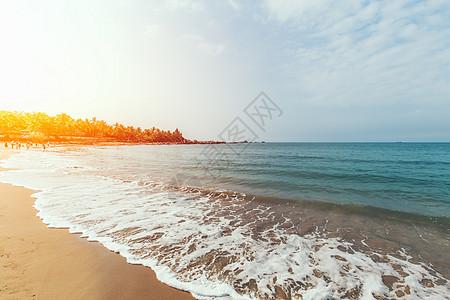 海南沙滩图片