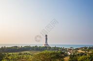 海南三亚南海观音图片