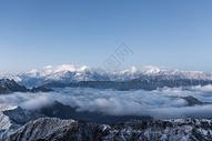四川牛背山云海图片