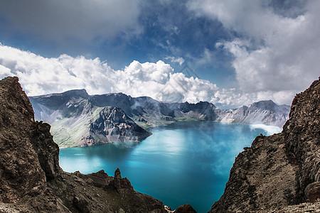 长白山天池风景图片