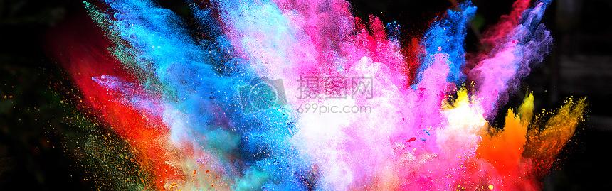 色彩人生图片