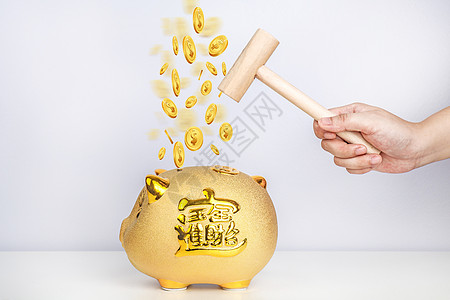 砸金猪有金币图片