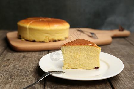 轻芝士蛋糕图片
