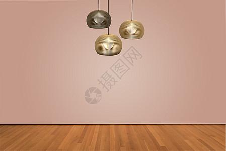 清晰木纹地板地板素材背景图片