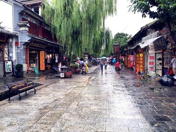 云南大理古镇图片