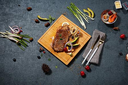 美味牛排摆拍素材图图片