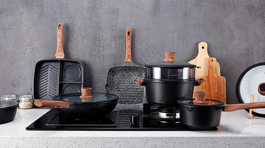 锅具产品摄影图片