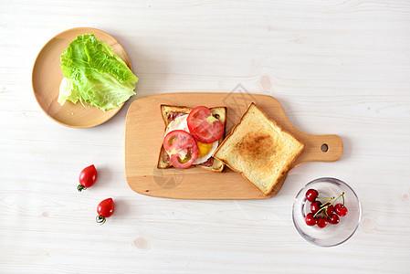 爱心美味营养早餐图片