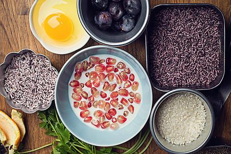五谷杂粮健康饮食食材搭配图片