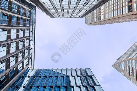 重庆商业大厦仰视图图片