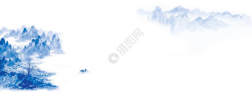 水墨banner图片
