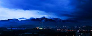 庐山夜景图片