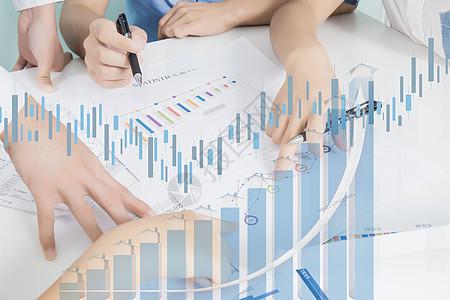 金融数据分析图片